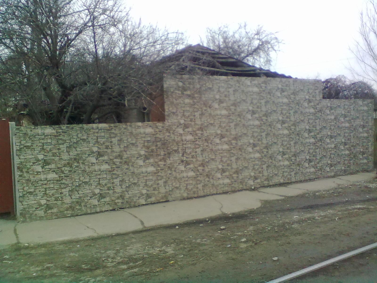 Профлист стеновой с рисунком