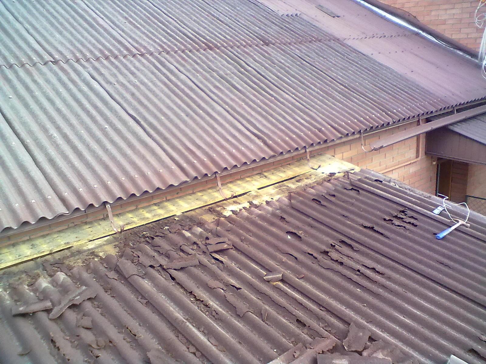 Ондулин демонтаж крыши